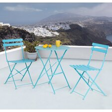 Bouloupariset 3 Piece Bistro Set