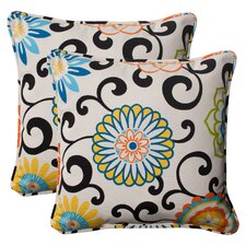 Tanan Indoor/Outdoor Throw Pillow (Set of 2)