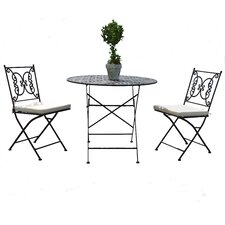 Kyra 3 Piece Bistro Set