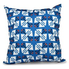 Willa Jodhpur Ditsy Geometric Outdoor Throw Pillow