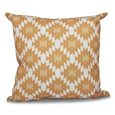 Willa Jodhpur Kilim Geometric Outdoor Throw Pillow
