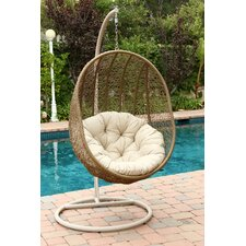 Reviews Moua Swing Chair with Stand