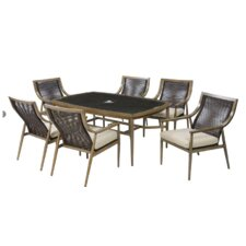 Top Reviews Liloh 7 Piece Dining Table Set