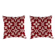 Boualam Outdoor Throw Pillow (Set of 2)