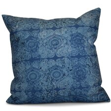 Soluri Patina Geometric Outdoor Throw Pillow