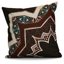 Soluri Rising Star Geometric Outdoor Throw Pillow