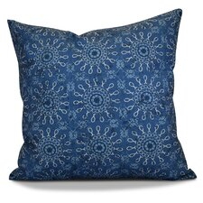 Soluri Sun Tile Geometric Outdoor Throw Pillow