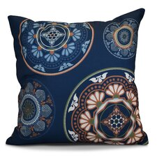 Soluri Medallions Geometric Outdoor Throw Pillow