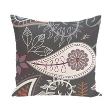 Vinoy Paisley Floral Outdoor Throw Pillow