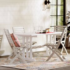 Marmol Acacia 7 Piece Patio Dining Set