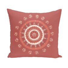 Nandai Geometric Print Outdoor Pillow