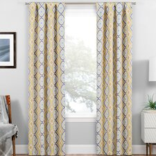 Mea-Mebara Blackout Thermal Rod Pocket Single Curtain Panel