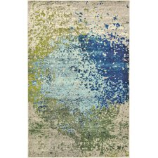 Hayes Blue Area Rug