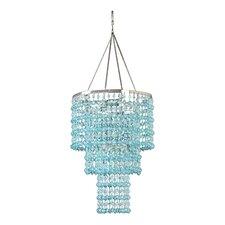 Kordell Triple Crown 1-Light Crystal Pendant