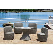 Corfu 5 Piece Dining Set