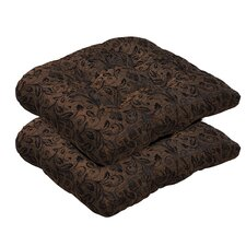 Herry Up Outdoor Dining Chair Cushion (Set of 2)
