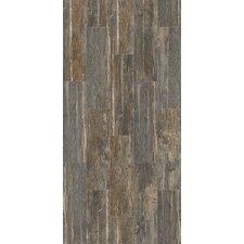 """Tampico 7"""" x 24"""" Ceramic Wood Look Tile in Gray"""