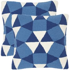 Cool Abstract Puzzle Decorative Indoor Outdoor Throw Pillow (Set of 2)