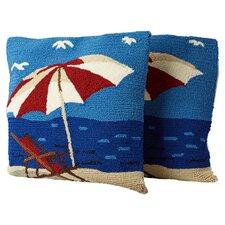 Hendersonville Lounge Decorative Indoor/Outdoor Throw Pillow (Set of 2)