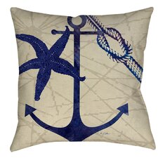 Herring Landing Indoor/Outdoor Throw Pillow