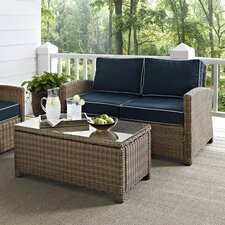 Middlesex 2 Piece Deep Seating Group with Cushions