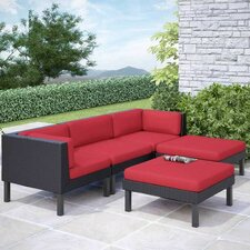 Zoar Sofa 5 Piece Seating Group with Cushions