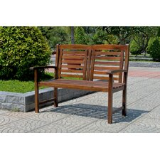Sandy Point Outdoor Wood Garden Bench