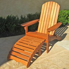 Sabbattus Adirondack Chair with Footrest