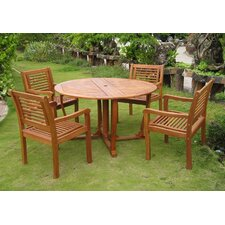 Reviews Sabbattus Ventallo 5 Piece Dining Set