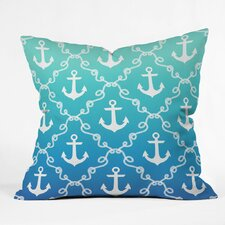 Denton Nautical Knots Ombre Outdoor Throw Pillow