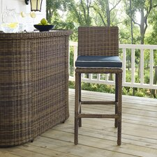 Middlesex Bar Stool with Cushion (Set of 2)