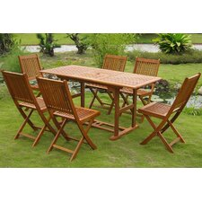2017 Coupon Sabbattus 7 Piece Dining Set