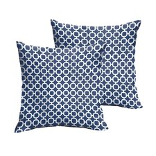 Hallsboro Indoor/Outdoor Throw Pillow (Set of 2)