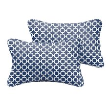 Hallsboro  Indoor/Outdoor Lumbar Pillow (Set of 2)