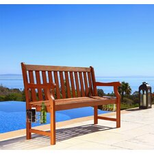 #1 Bucksport Wood Garden Bench