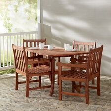 Discount Bucksport 5 Piece Dining Set