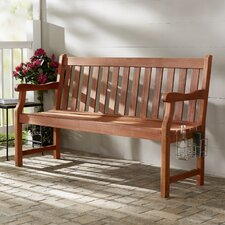 Bucksport 3-Seater Wood Garden Bench