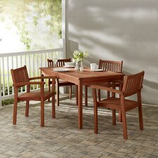 Best #1 Bucksport 5 Piece Dining Set