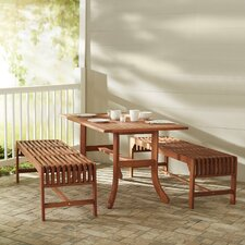 Bucksport 3 Piece Dining Set