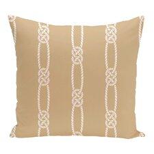 Hancock Tom Foolery Stripe Outdoor Throw Pillow