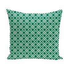 Hancock Rope Rigging Geometric Outdoor Throw Pillow