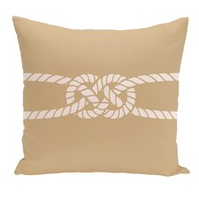 Hancock Carrick Bend Geometric Outdoor Throw Pillow