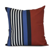 Bartow Beach Shack Outdoor Throw Pillow
