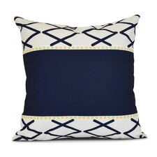 Bartow Knot Fancy Outdoor Throw Pillow