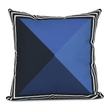Bartow Nautical Angles Outdoor Throw Pillow