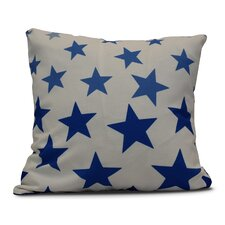 Petersfield Just Stars Indoor/Outdoor Throw Pillow