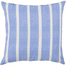Orchid Stripe Outdoor Throw Pillow
