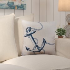 Barleycove Anchor Outdoor Throw Pillow