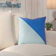 #1 Cristina Split Color Outdoor Throw Pillow