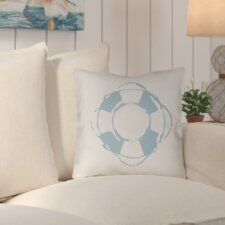 Wesley Nautical Indoor/Outdoor Throw Pillow